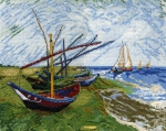 """""""Лодки в Сен-Мари"""" по картине Ван Гога"""
