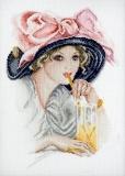 """Девушка с розовым бантом"" (Харрисон Фишер)"