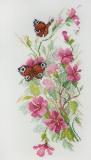 """""""Цветы и бабочки"""" по рисунку О. Цуриной"""